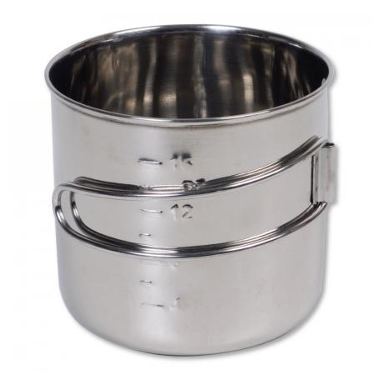 Space Saver Stainless Steel Camping Cup