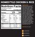 Peak Refuel Homestyle Chicken & Rice