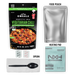 OMEALS Vegetarian Chili Ready-to-Eat 8oz Meal with Water Activated Heater