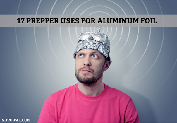 17 Prepper Uses for Aluminum Foil