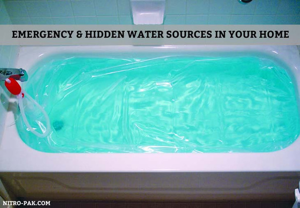 Emergency & Hidden Water Sources in Your Home