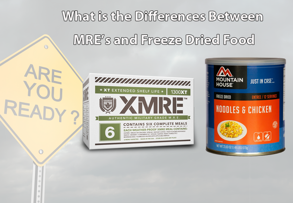 MRE vs Freeze-Dried Meals, What's the Difference?