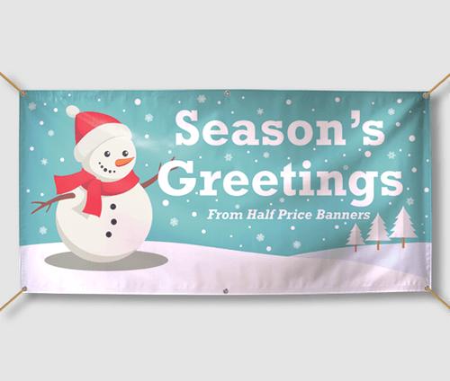 Custom Christmas & Holiday Banners