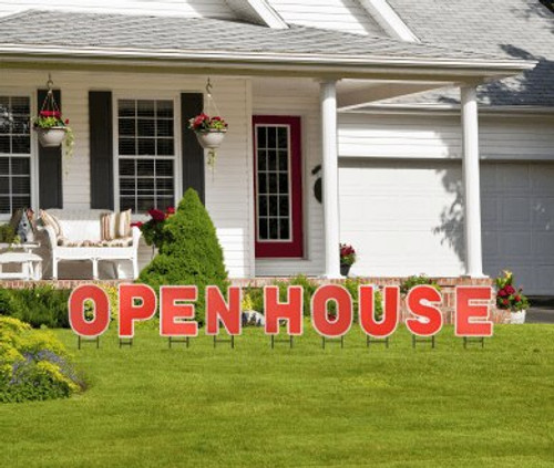 Open House Yard Letters