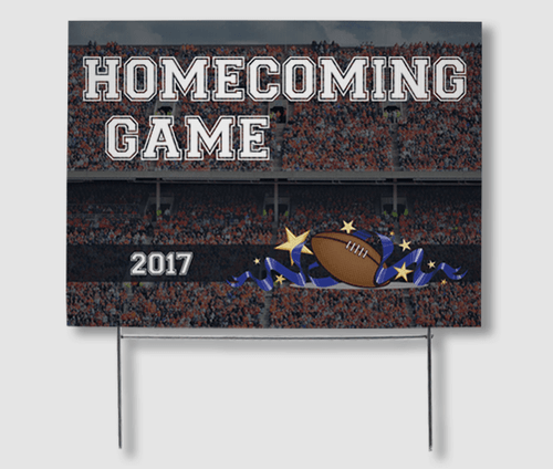 Homecoming Yard Signs