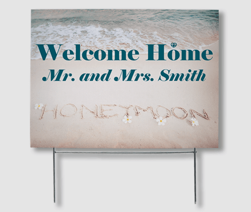 Welcome Home Yard Signs