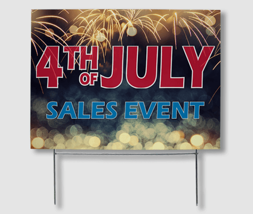 4th of July Yard Signs