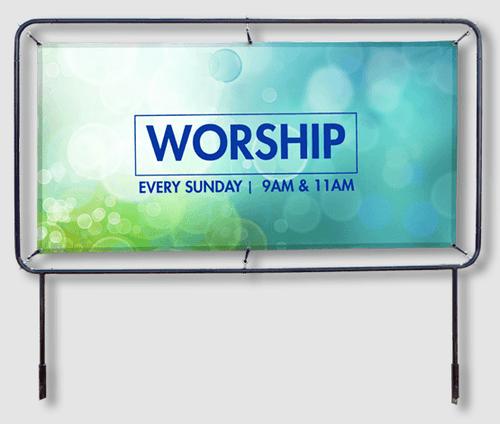 Church Banner Frames