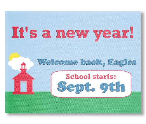 Back to School Window Banners