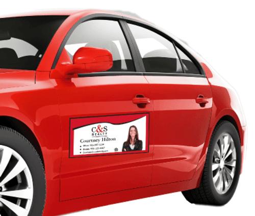 Real Estate Vehicle Magnets