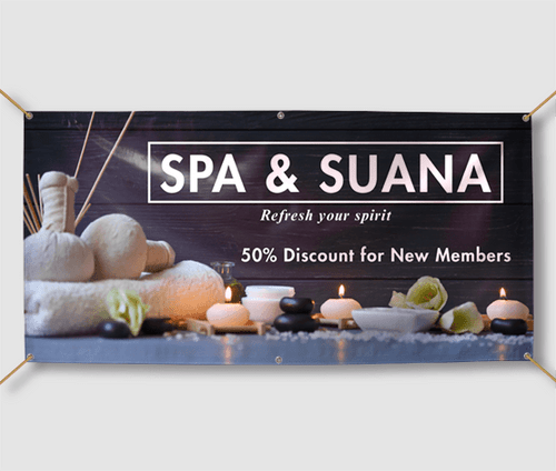 Salon and Spa Banners