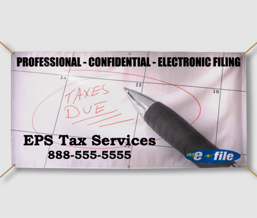 Tax Service Banners