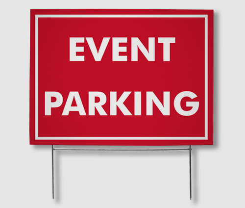 Parking Yard Signs