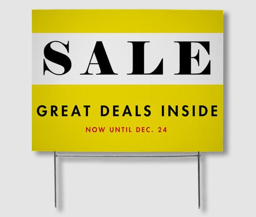 Sale Yard Signs