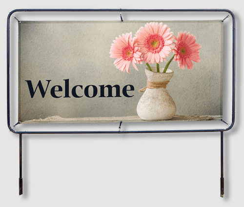 Welcome Banner Frames