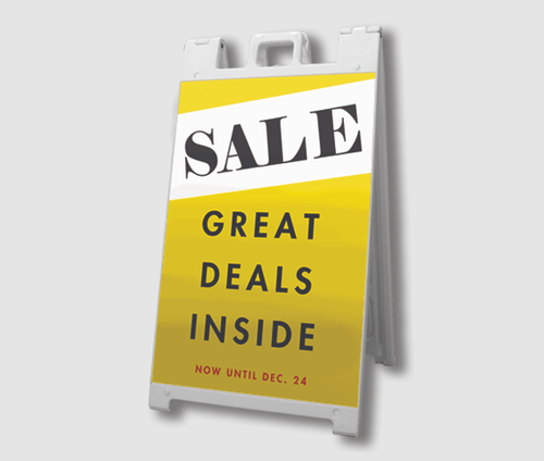 Sale A-Frame Signs