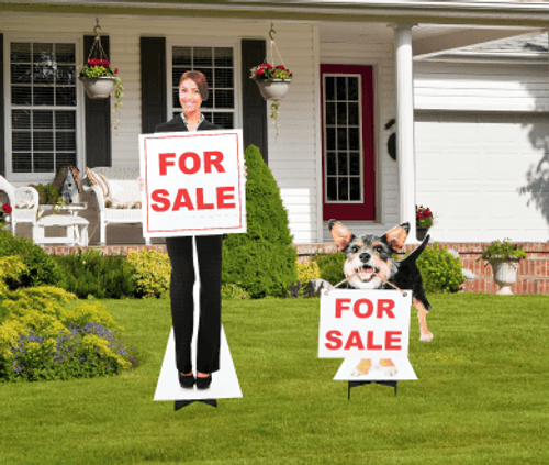 Real Estate Standees