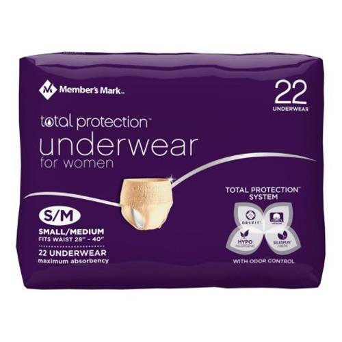 Bag of Disposable Postpartum Underwear