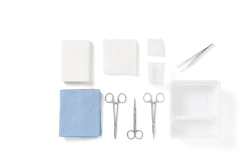 Laceration Tray by Medline