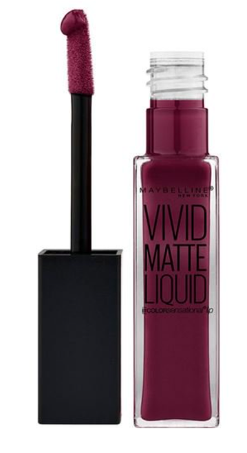 Coloursensational Lipstick Vivid Matte Liquid by Maybelline, Corrupt Cranberry