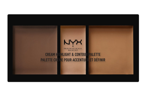 Nyx Cream Highlight & Contour Palette , deep