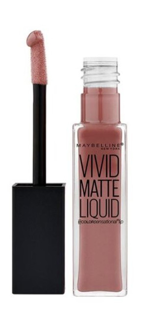 Coloursensational Lipstick Vivid Matte Liquid by Maybelline,Grey Envy