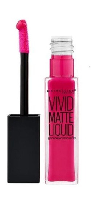 Coloursensational Lipstick Vivid Matte Liquid by Maybelline, Fuchsia Ecstasy