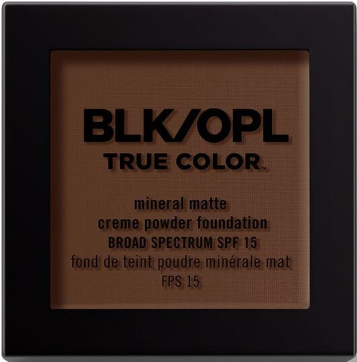 BLK/OPL true Color Mineral Matte Creme Powder Foundation-Beautiful Bronze