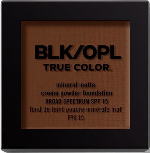BLK/OPL true Color Mineral Matte Creme Powder Foundation-Hazelnut