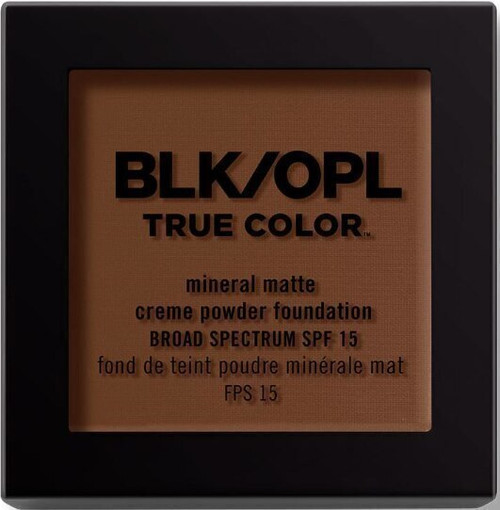 BLK/OPL true Color Mineral Matte Creme Powder Foundation-Amber