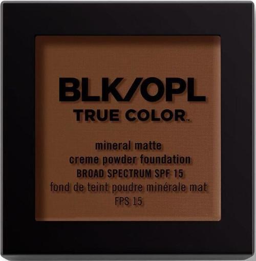 BLK/OPL true Color Mineral Matte Creme Powder Foundation-Amber