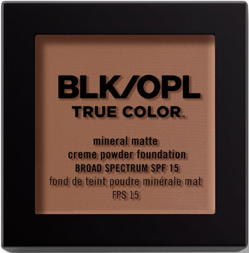 BLK/OPL true Color Mineral Matte Creme Powder Foundation-Heavenly Honey