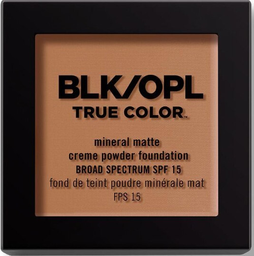 BLK/OPL true Color Mineral Matte Creme Powder Foundation-Truly Topaz