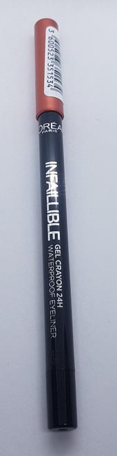 Infallible Gel Crayon Waterproof Eyeliner Super Copper