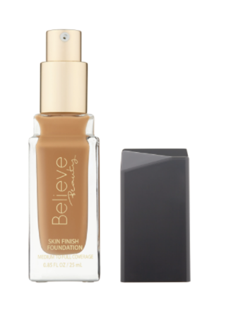 Believe Beauty Skin Finish Foundation Toffee