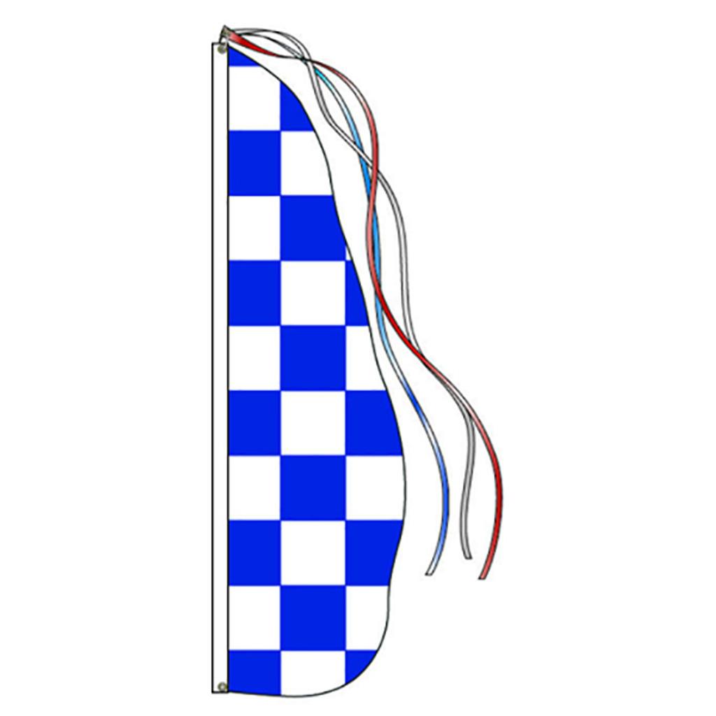 Custom Feather Dancer Flag