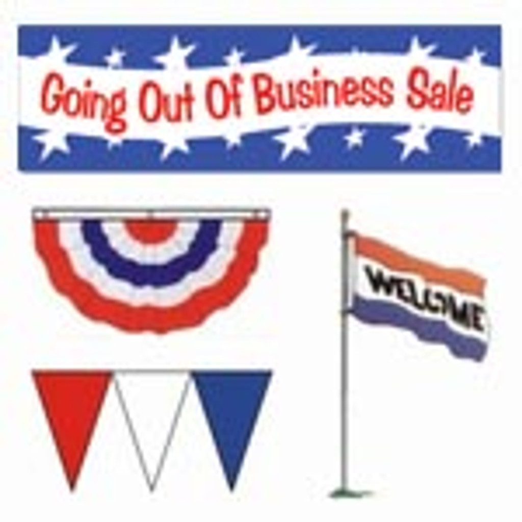 Large Going Out Of Business Sale Package