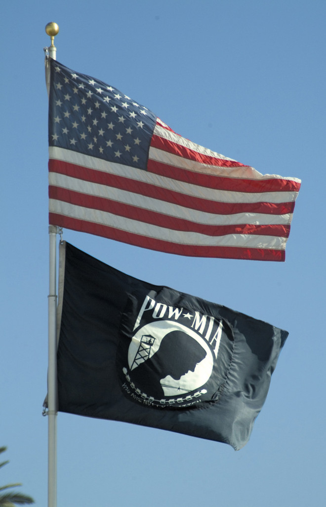 POW-MIA Double Sided