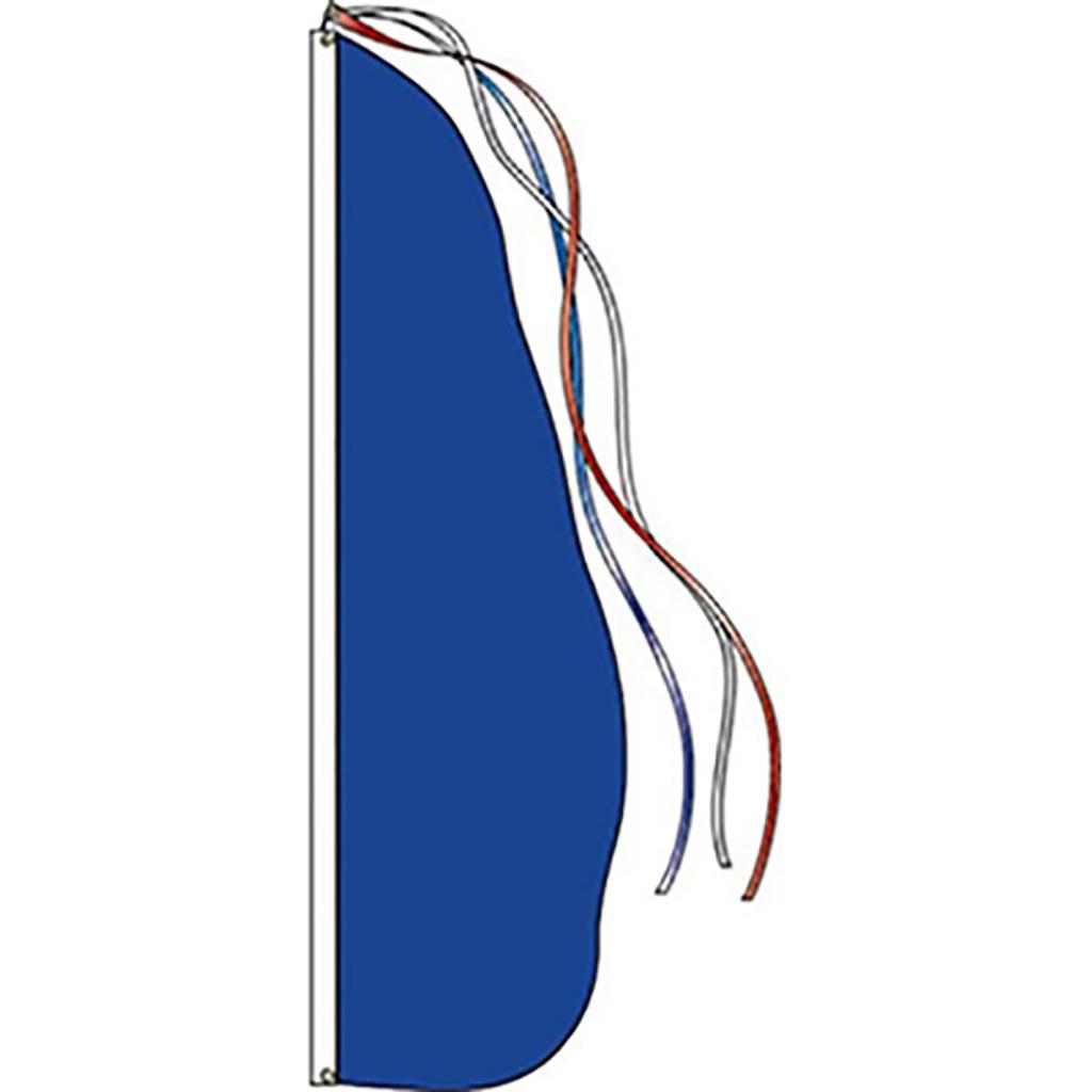 Style B - Blue Feather Dancer Flag