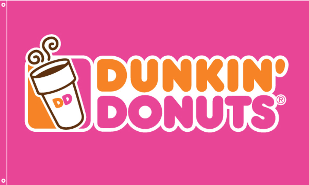 Dunkin' Donuts Flag Pink