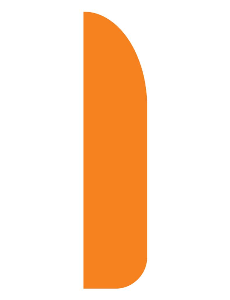 3'x13' Feather Dancer Flag Orange