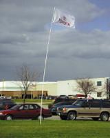 Telescoping  21' Flag Pole