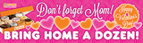Custom Valentine's Day 3'x10' Banner