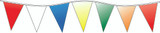 Multi Color Pennants