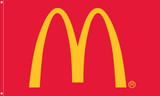 "McDonald's Flag ""Arch"" Red"