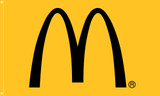 "McDonald's Flag ""Arch"" Yellow"