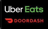 "McDonald's Flag ""Uber Eats & Doordash"""