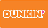 Dunkin' Flag Orange