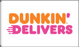 Dunkin' Delivers Flag