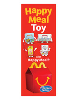 "McDonald's 3'x8' Lamppost Banner ""Happy Meal"" 2"